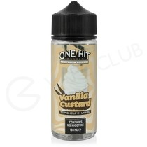 Vanilla Custard Shortfill E-Liquid by One Hit Wonder Winter Series 100ml