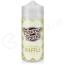 Vanilla Custard Waffle Shortfill E-Liquid by Flavour Treats 100ml