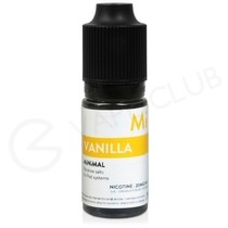 Vanilla Nic Salt E-Liquid by Minimal