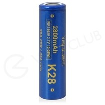 Vapcell K28 18650 Rechargeable Vape Battery (2800mAh 20A)