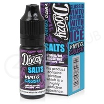 Vimto Crush Nic Salt E-Liquid by Doozy Salts