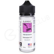Watermelon Chill Dripper Shortfill E-Liquid by Element 100ml