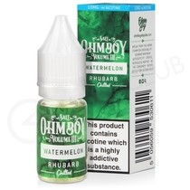 Watermelon Rhubarb Nic Salt E-Liquid by Ohm Boy Volume III