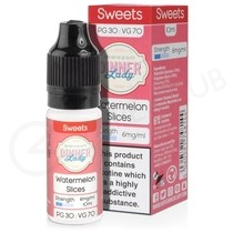 Watermelon Slices E-Liquid by Dinner Lady 70/30