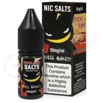 Well Baked Nic Salt E-Liquid by Pyscho Bunny
