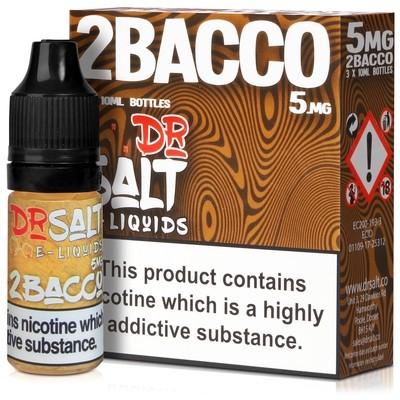 2Bacco Nic Salt E-Liquid by Dr Salt