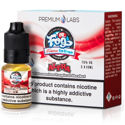 Alpha eLiquid by Dr. Fog's Famous Ice Cream