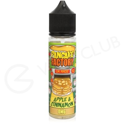 Apple and Cinnamon 50ml Shortfill by Pancake Factory