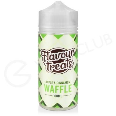 Apple & Cinnamon Waffle Shortfill E-Liquid by Flavour Treats 100ml