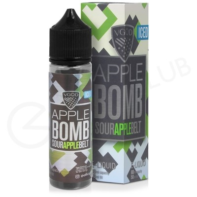 Apple Bomb Iced Shortfill E-Liquid by VGOD Bomb Line 50ml