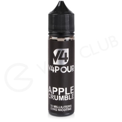 Apple Crumble 50ml Shortfill by V4 V4POUR