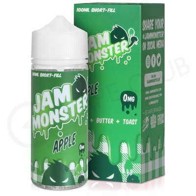 Apple eLiquid by Jam Monster 100ml