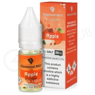 Apple Nic Salt E-Liquid by Diamond Mist
