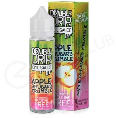Apple Rhubarb Crumble Shortfill E-Liquid by Double Drip 50ml