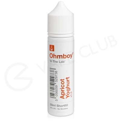 Apricot Yoghurt Shortfill E-liquid by Ohm Boy 50ml