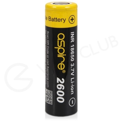 Aspire 18650 Rechargeable Battery (2600mAh 20A)