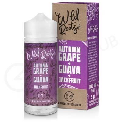 Autumn Grape, Guava & Jackfruit Shortfill E-Liquid by Wild Roots 100ml