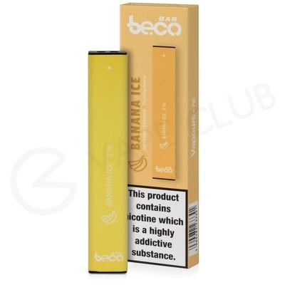 Banana Ice Beco Bar Disposable Device