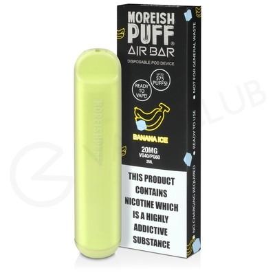 Banana Ice Moreish Puff Air Bar Disposable Vape