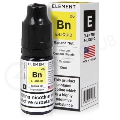 Banana Nut E-Liquid by Element 50/50
