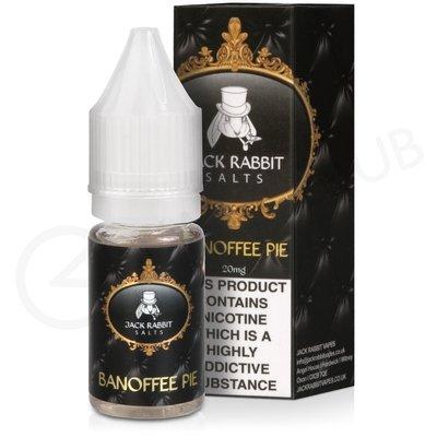 Banoffee Pie Nic Salt E-Liquid by Jack Rabbit