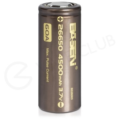 Basen 26650 Rechargeable Vape Battery (4500mAh 60A)