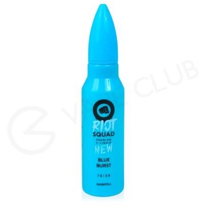 Blue Burst Shortfill E-Liquid by Riot Squad 50ml