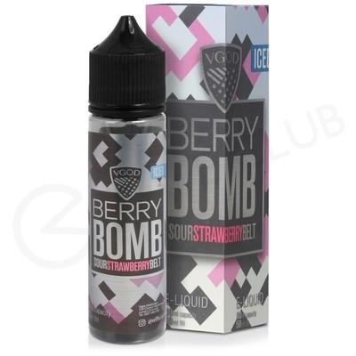 Berry Bomb Iced Shortfill E-Liquid by VGOD Bomb Line 50ml