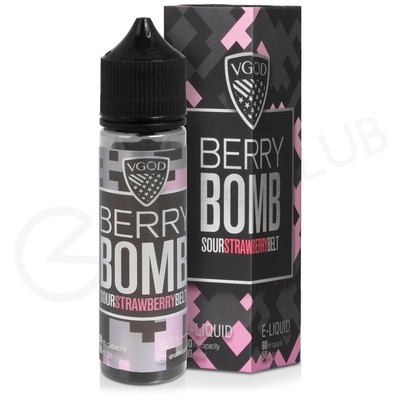 Berry Bomb Shortfill E-Liquid by VGOD Bomb Line 50ml