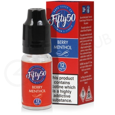 Berry Menthol E-Liquid by Fifty 50