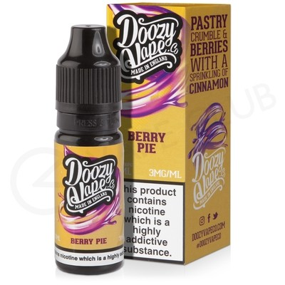 Berry Pie E-Liquid by Doozy Vape Co.