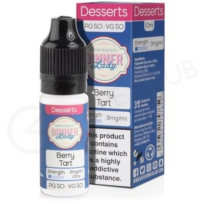 Berry Tart E-Liquid by Dinner Lady 50/50