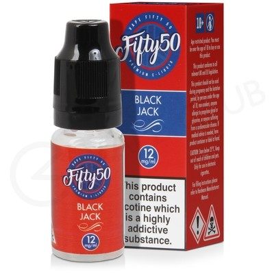 Black Jack E-Liquid by Fifty 50