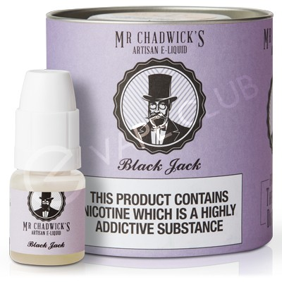 Black Jack eLiquid by Mr Chadwick's