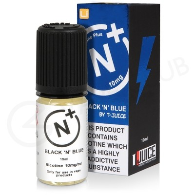 Black 'n' Blue Nic Salt eLiquid by T-Juice
