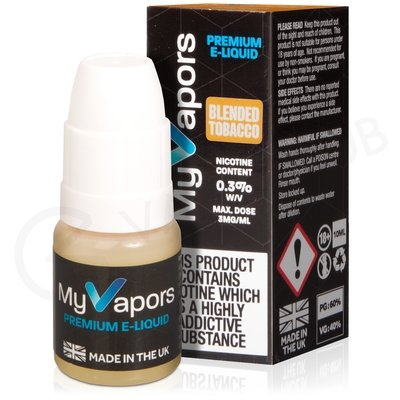 Blended Tobacco eLiquid by My Vapors
