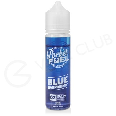 Blue Raspberry Shortfill E-Liquid by Pocket Fuel 50ml