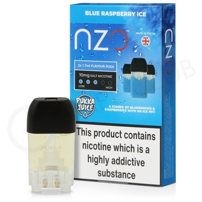 Blue Raspberry Ice Prefilled Pod by NZO