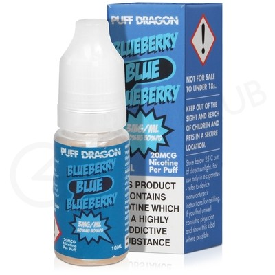 Blueberry E-Liquid by Puff Dragon