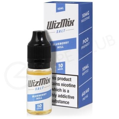 Blueberry Hill Nic Salt E-Liquid by Wizmix