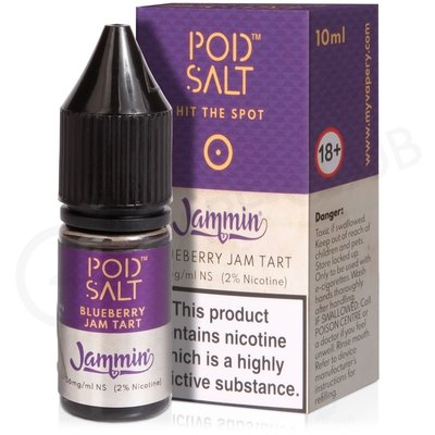 Blueberry Jam Tart eLiquid by Pod Salt