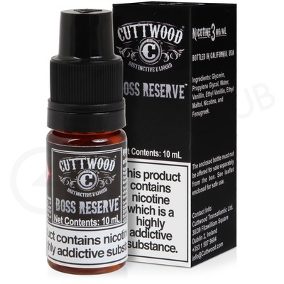 Boss Reserve E-Liquid by Cuttwood