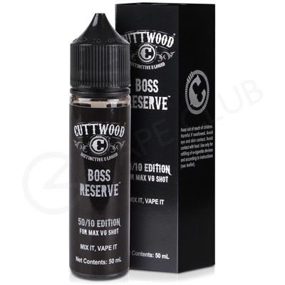 Boss Reserve eLiquid by Cuttwood 50ml