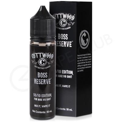 Boss Reserve Shortfill E-Liquid by Cuttwood 50ml