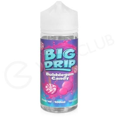 Bubblegum Candy Shortfill E-Liquid by Big Drip 100ml