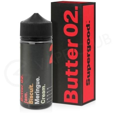 Butter 02 Shortfill E-Liquid by Supergood 100ml