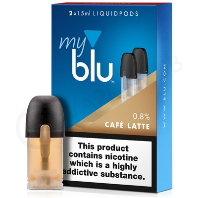 Cafe Latte E-Liquid Pod by MyBlu