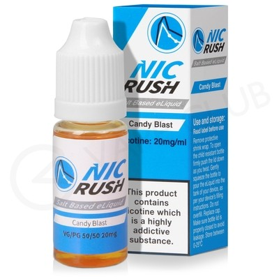 Candy Blast Salt eLiquid by Nic Rush