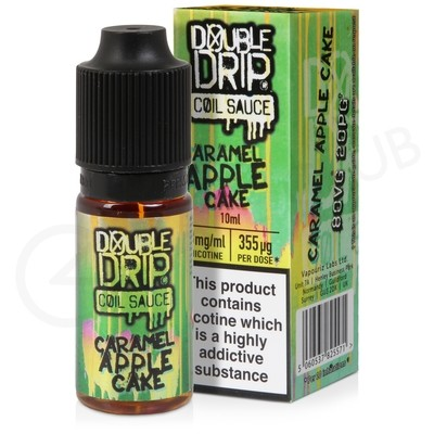 Caramel Apple Cake eLiquid by Double Drip