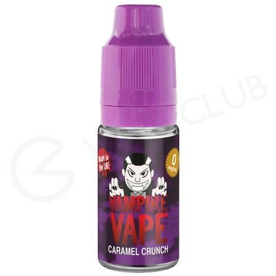 Caramel Crunch E-Liquid by Vampire Vape